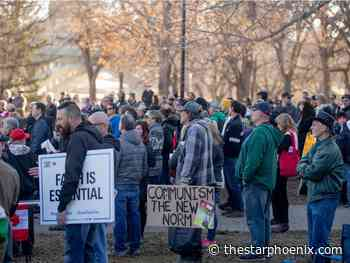 Saskatoon, Maple Creek mayors caution against 'freedom' gatherings - Saskatoon StarPhoenix