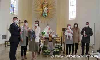 Anna und Lukas empfingen die Taufe - Mittelbayerische