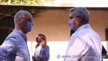 Gollán recorrió el hospital y el vacunatorio de San Antonio de Areco - zonanortehoy.com