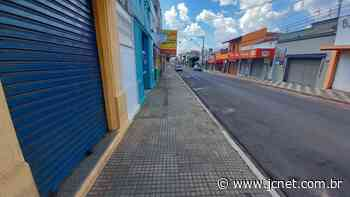 Lockdown deixa Agudos 'deserta' - JCNET - Jornal da Cidade de Bauru