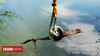 Magnet fishing allowed on Scotland's canals