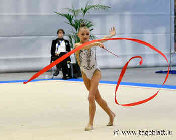 Rhythmische Sportgymnastik / Sophie Turpel mit starkem EM-Auftakt - Tageblatt online