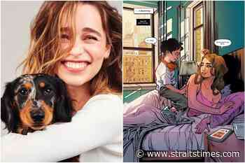 Actress Emilia Clarke writes comic book Mother Of Madness - The Straits Times