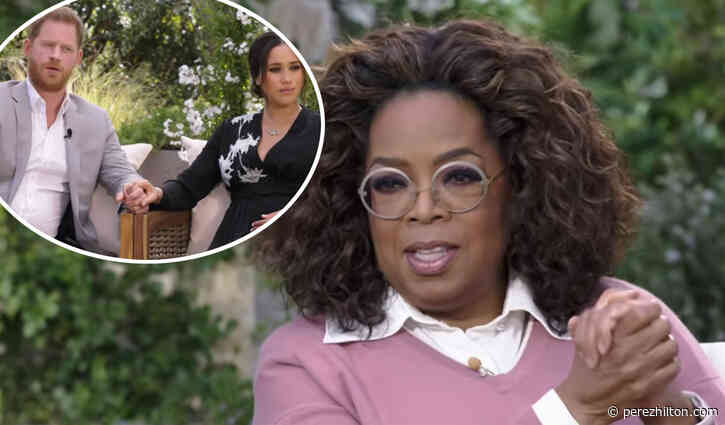 Oprah Winfrey 'Surprised' Meghan Markle & Prince Harry Called Out Racism Within The Royal Family