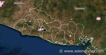 Sismo de 2.6 sacudió esta tarde el municipio de Chirilagua, San Miguel - Solo Noticias