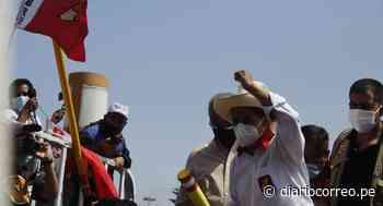 """Pedro Castillo en Virú: """"Vamos a sacar adelante una constitución que tenga color, olor y sabor a pueblo"""" - Diario Correo"""