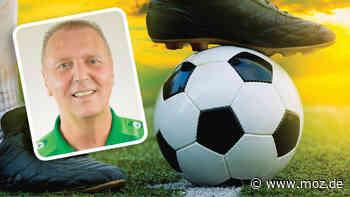 Fußball-Trainer in Brandenburg: Sven Orbanke von Grün-Weiss Ahrensfelde über Vorbilder und den besten Spieler, den er je trainiert hat - moz.de