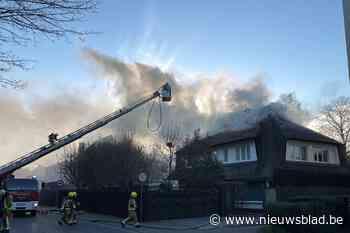 Vogelnest in schouw leidt tot brand aan rieten dak