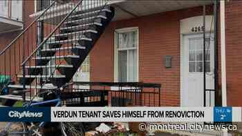 Verdun tenant saves himself from renoviction - CityNews Montreal