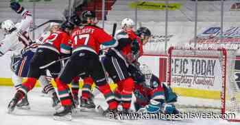 Levis scores four goals for Kamloops Blazers in victory over Kelowna Rockets - Kamloops This Week