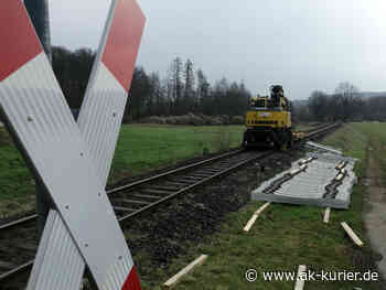 Güterverkehr startet am 3. Mai wieder auf Holzbachtalbahnstrecke zwischen Altenkirchen und Selters - AK-Kurier - Internetzeitung für den Kreis Altenkirchen