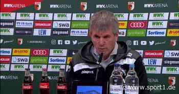 1. FC Köln: Friedhelm Funkel bremst trotz Sieg gegen Augsburg die Euphorie - SPORT1