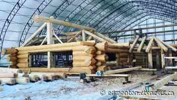 Rocky Mountain House log home builder goes international - CTV News Edmonton