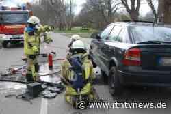 Wentorf bei Hamburg: Feuerwehr löscht Autobrand - RTN - News und Bilder aus dem Norden