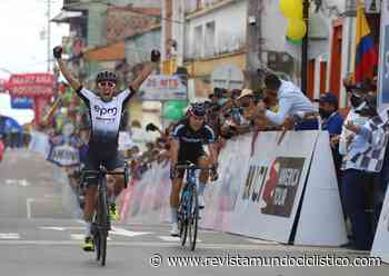 Aldemar Reyes triunfa en Belalcázar. Yesid Pira defiende con gallardía el liderato de la Vuelta a Colombia - Revista Mundo Ciclistico