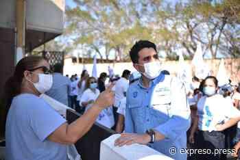 Ciudad Madero se pintará de azul, afirmó Carlos Fernández Altamirano - Expreso