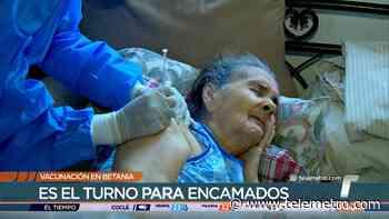 La vacunación en Betania llega a las personas encamadas - Telemetro