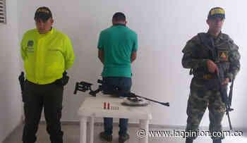 Capturado en Bucarasica con marihuana y un rifle | La Opinión - La Opinión Cúcuta