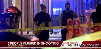 Cinco pessoas ficam feridas em tiroteio nos Estados Unidos - UOL Notícias