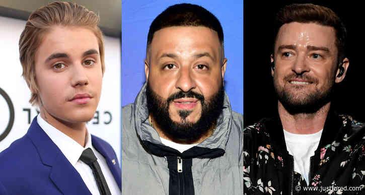 DJ Khaled Reveals Justin Bieber & Justin Timberlake Will be Featured on His Next Album!