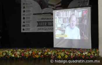 Celebran día Internacional del Libro con entrega de enciclopedias en Mixquiahuala - Quadratín Hidalgo