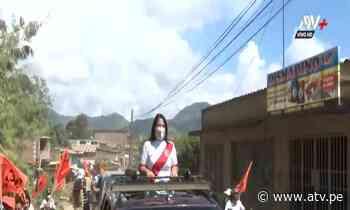 Keiko Fujimori realiza caravana en Satipo - ATV.pe