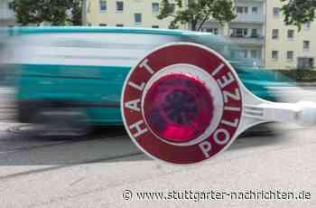 Kontrolle in Vaihingen an der Enz - Rollerfahrer flüchtet vor der Polizei - Stuttgarter Nachrichten