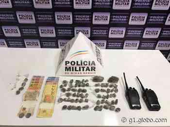 Três jovens são detidos com maconha, cocaína e crack em Caratinga - G1