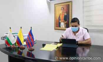 Alcalde de Ariguaní lideró comité de seguridad municipal en modalidad virtual - Opinion Caribe