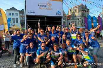 Geen 1.000 kilometer tegen kanker, dan houden deze wielertoe... (Eeklo) - Het Nieuwsblad