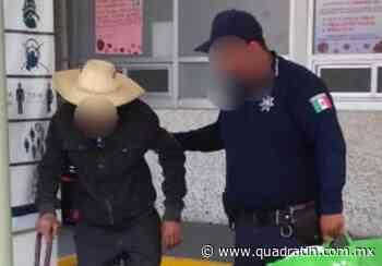 Localiza SSP a persona de la tercera edad extraviada en Zacapu - Quadratín - Quadratín Michoacán