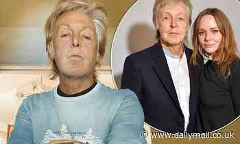 Paul McCartney shows his support for fashion designer daughter Stella - Daily Mail