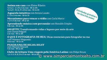 Monte Alto recebe programa de Oficinas Culturais no mês de maio – Jornal O Imparcial - O Imparcial – Monte Alto