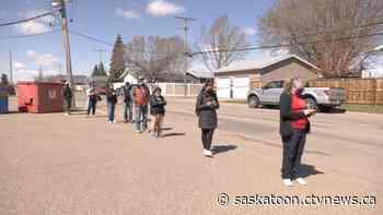 First-come, first-serve COVID-19 vaccine clinic open in Warman - CTV News Saskatoon