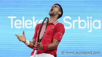 Tennis video highlights - Novak Djokovic crashes out to Aslan Karatsev in shock at Serbia Open - Eurosport COM