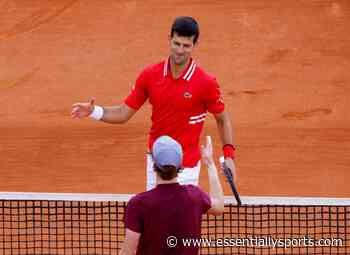 """Not a Big Surprise"": Novak Djokovic Makes Huge Claim on Jannik Sinner After His Win Over Andrey Rublev - EssentiallySports"