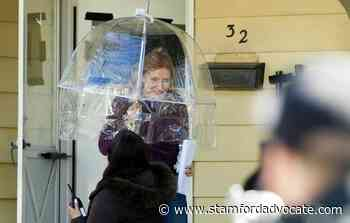 Eddie Redmayne and Jessica Chastain spotted filming Netflix movie in Stamford - The Advocate