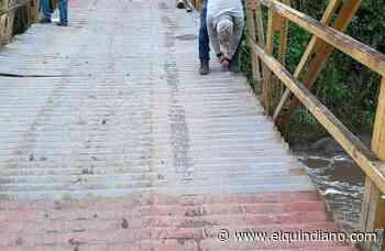 Mejoran condiciones del puente de La Nubia en Salento - El Quindiano S.A.S.