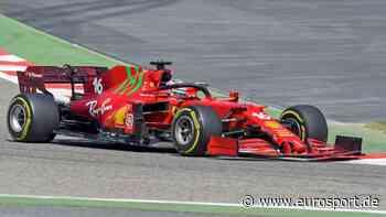 Charles Leclerc parkt geschenkten Ferrari bei Fürst Albert von Monaco - Eurosport DE