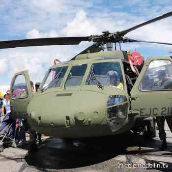Fuerza Aérea trasladó 7.000 dosis contra covid hasta Fredonia - Telemedellín