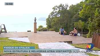 Nova estrutura do Parque do Atalaia atrai visitantes em Itajaí - ND Mais
