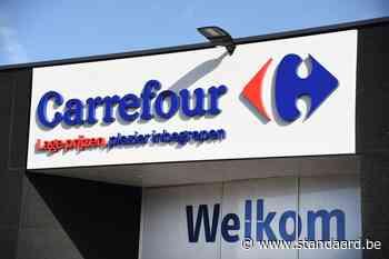 Personeel Carrefour Sint-Agatha-Berchem legt werk neer na gevallen van agressie - De Standaard
