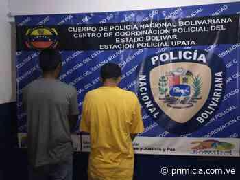 Dos detenidos por estar ligados al supuesto hurto de materiales en Upata - Diario Primicia - primicia.com.ve