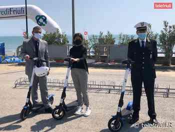 A Lignano Sabbiadoro arrivano i monopattini elettrici in sharing - Telefriuli