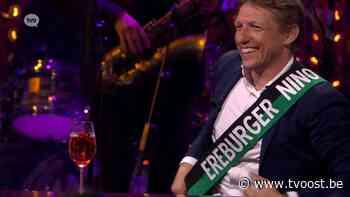 Wesley Sonck (eindelijk) ereburger van Ninove - TVOOST - TV Oost
