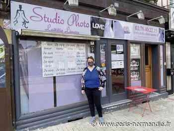 Même fermée, la commerçante de Saint-Romain-de-Colbosc œuvre pour renforcer sa visibilité - Paris-Normandie