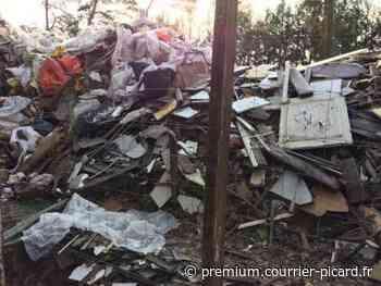 Les habitants d'Orry-la-Ville se mobilisent pour faire nettoyer une décharge sauvage - Courrier picard