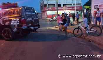 Acidente entre motos deixa dois feridos em Primavera do Leste - AGORA MT - AgoraMT