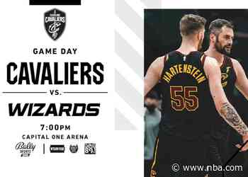 Cavs at Wizards   Rocket Mortgage Game Preview