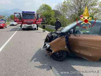 Incidente ad Albavilla: scontro tra auto, tre i contusi - Corriere di Como
